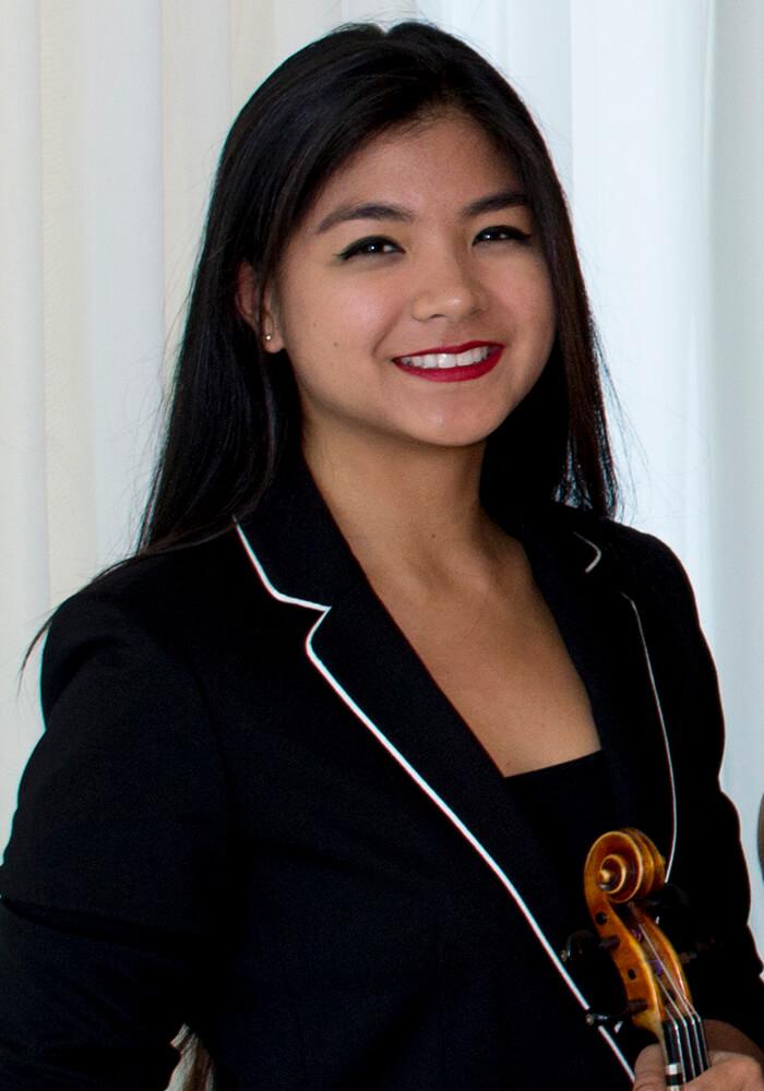 Ariele Macadangdang Biscayne String Quartet