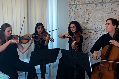 Biscayne String Quartet Air on the G String