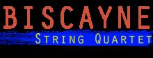 Biscayne String Quartet logo