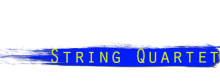 Biscayne String Quartet logo white