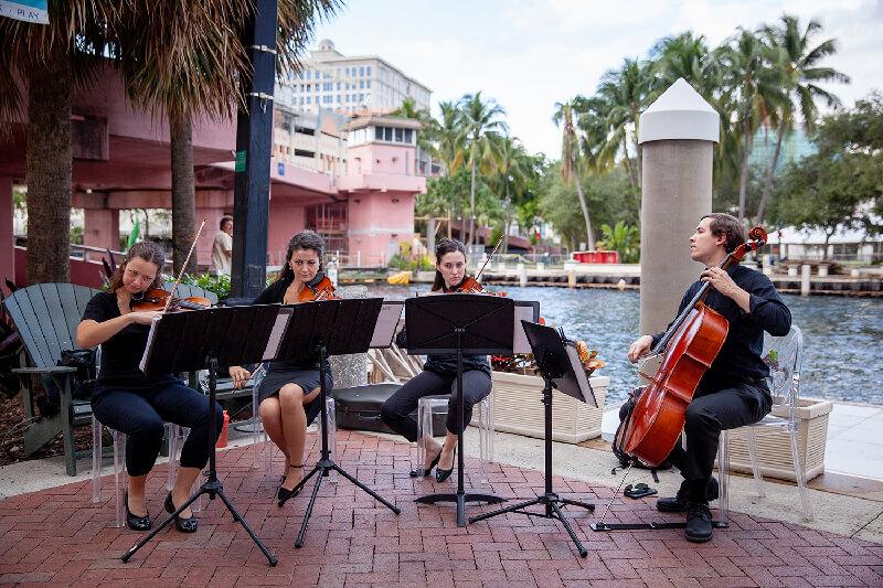 Biscayne String Quartet wedding