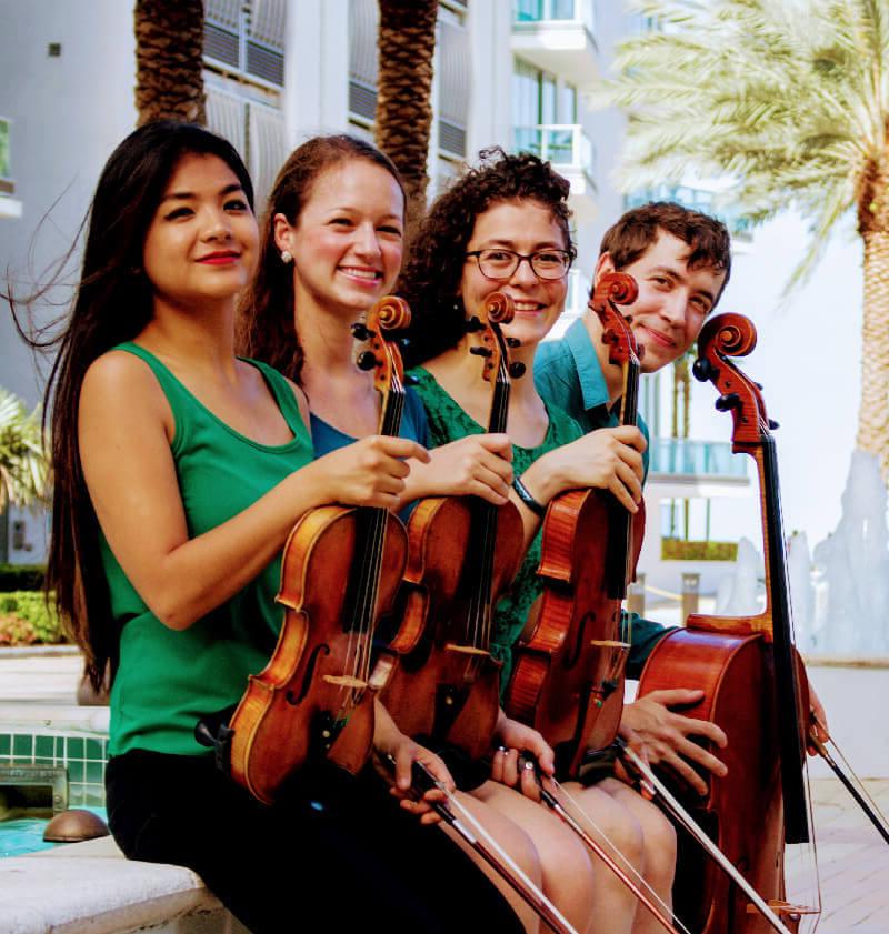 Booking info Biscayne String Quartet